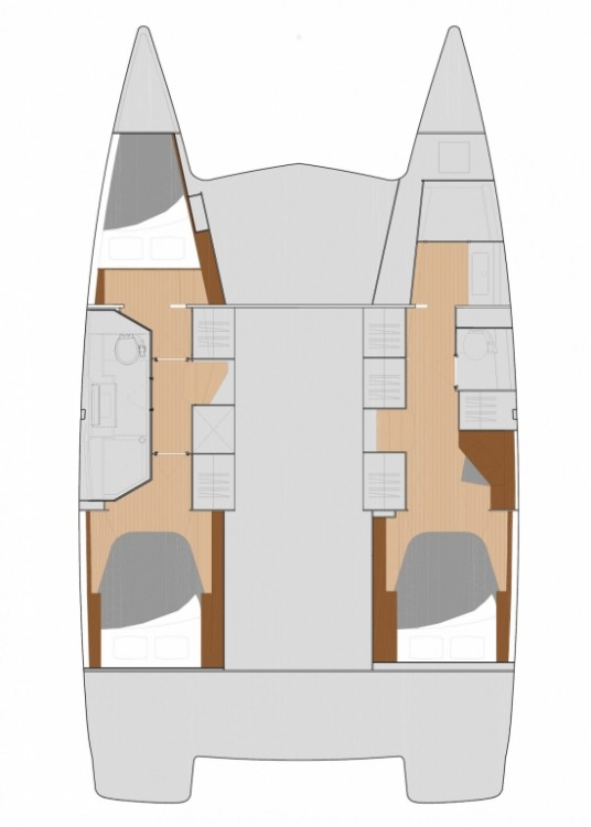 Fountaine Pajot Fountaine Pajot Lucia 40 - 3 cab. between personal and professional New England