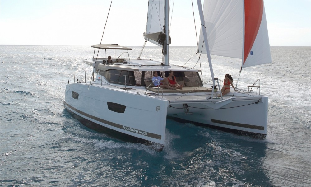 Boat rental Tortola cheap Fountaine Pajot Lucia 40 - 3 cab.