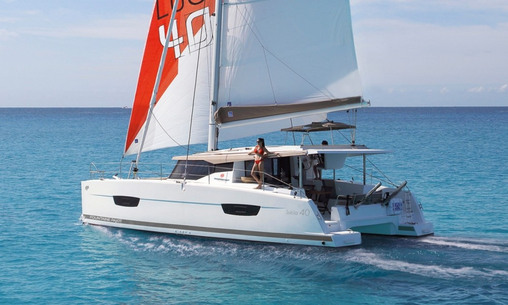 Rental yacht Tortola - Fountaine Pajot Fountaine Pajot Lucia 40 - 3 cab. on SamBoat