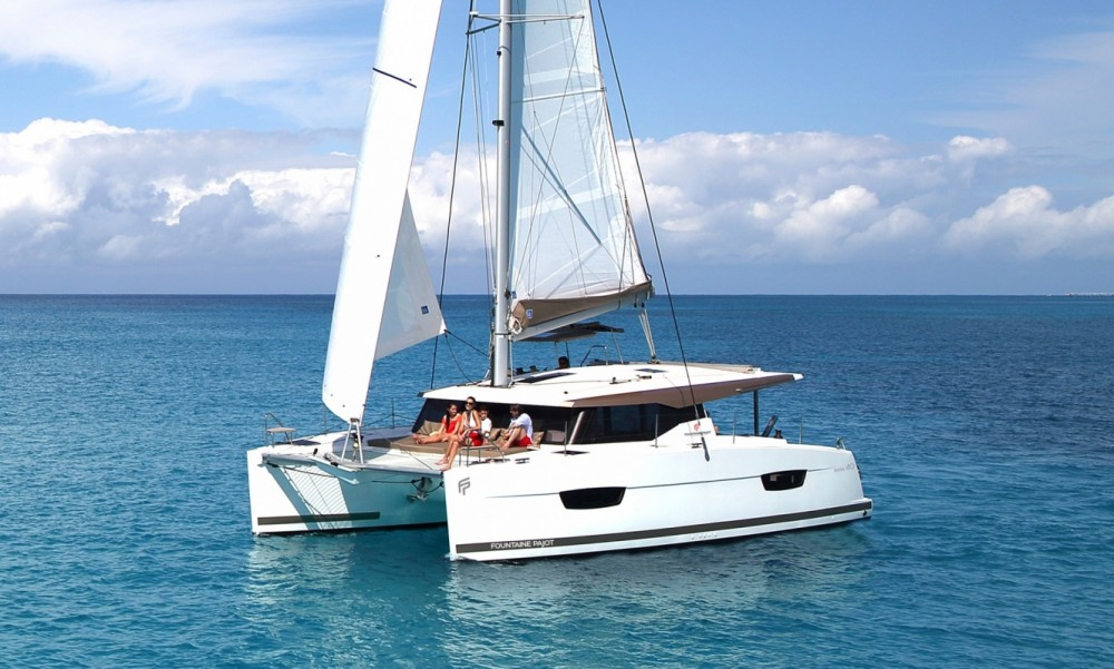 Rent a Fountaine Pajot Fountaine Pajot Lucia 40 - 3 cab. Tortola
