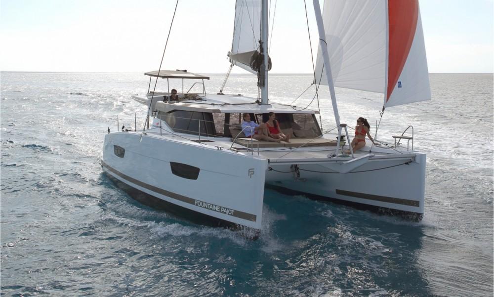 Rental Catamaran in Tortola - Fountaine Pajot Fountaine Pajot Lucia 40 - 3 cab.