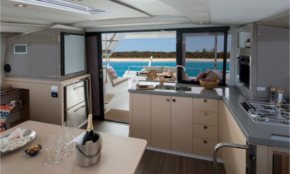 Boat rental Tortola cheap Fountaine Pajot Lucia 40 - 3 cab.