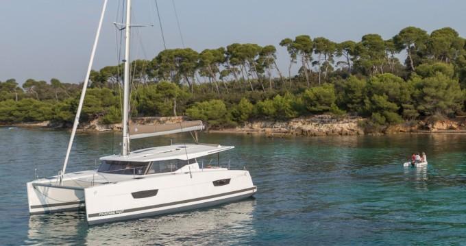 Rental Catamaran in Tortola - Fountaine Pajot Fountaine Pajot Lucia 40