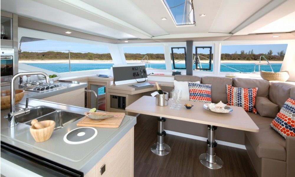 Boat rental Fountaine Pajot Fountaine Pajot Lucia 40 in Peloponnese on Samboat