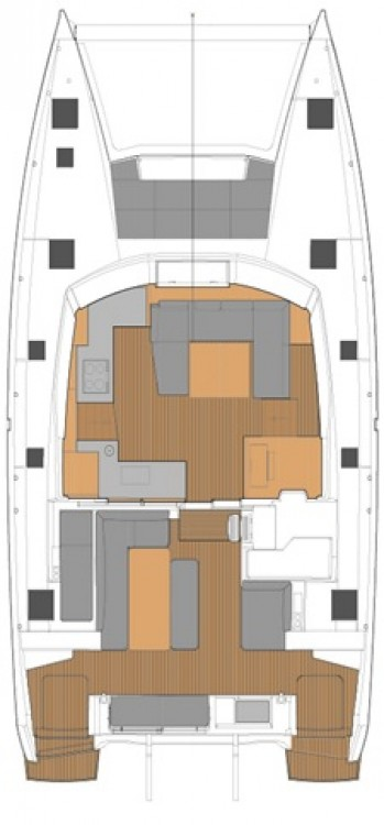 Fountaine Pajot Fountaine Pajot New 45 - 4 + 2 cab. between personal and professional Peloponneso