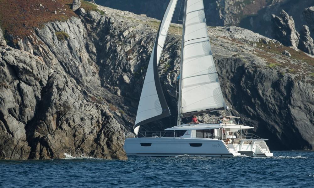 Boat rental Tortola cheap Fountaine Pajot Saba 50 - 6 + 2 cab.