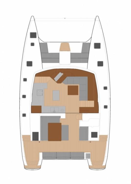 Boat rental Peloponnese cheap Fountaine Pajot Saba 50 - 6 + 2 cab.