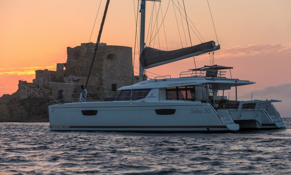 Rental yacht Peloponnese - Fountaine Pajot Fountaine Pajot Saba 50 - 6 + 2 cab. on SamBoat