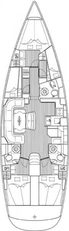 Bavaria Cruiser 50 between personal and professional Jezera