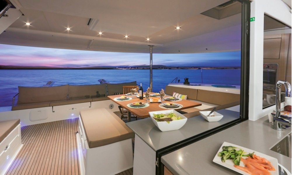 Rental yacht Peloponnese - Fountaine Pajot Fountaine Pajot Saba 50 - 6 + 2 cab. on SamBoat