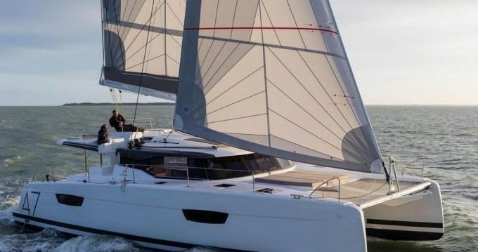 Rental yacht Marina Cay - Fountaine Pajot Saona 47 on SamBoat