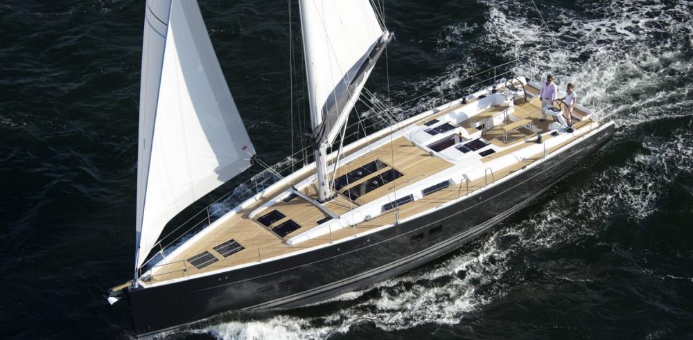 Rental Sailboat in  - Hanse Hanse 575