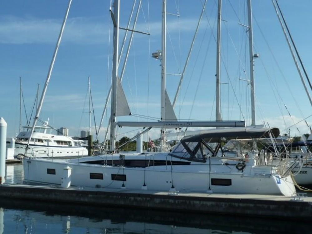 Boat rental Jeanneau Jeanneau 51 in New England on Samboat