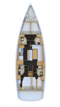 Rental yacht Athens - Jeanneau Jeanneau 54 - 4 + 1 cab. on SamBoat