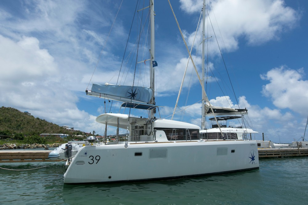 Boat rental Tortola cheap Lagoon 39