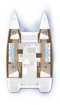 Rental yacht Seget Donji - Lagoon Lagoon 40 on SamBoat