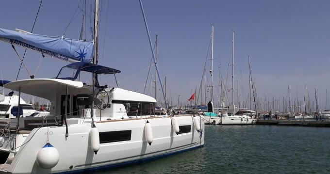 Lagoon Lagoon 40 between personal and professional Palma de Mallorca