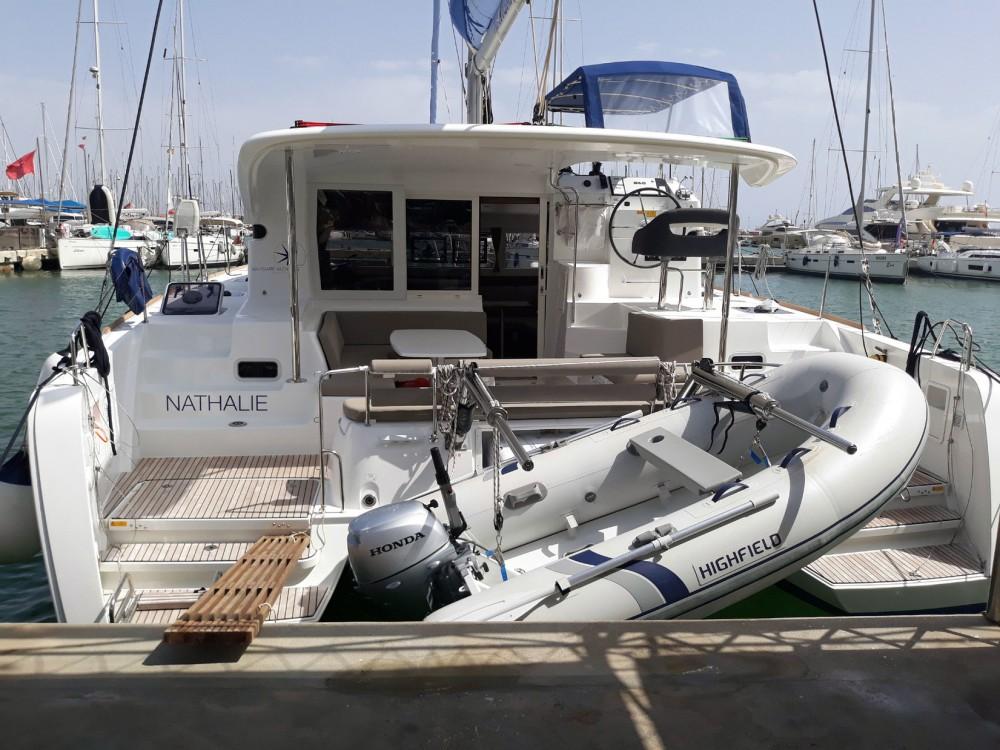 Boat rental Isole Baleari cheap Lagoon 40 - 4 + 2 cab