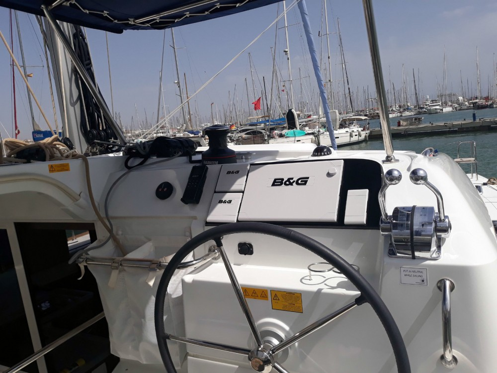Catamaran for rent Isole Baleari at the best price