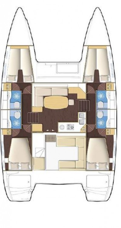 Boat rental Phuket cheap Lagoon 400