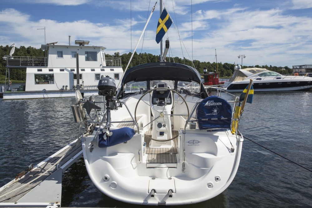 Bavaria Cruiser 30 between personal and professional Sweden