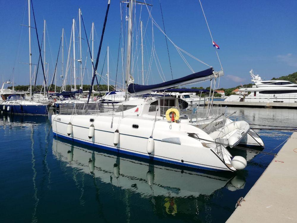 Rental Catamaran in  - Fountaine Pajot Athena 38