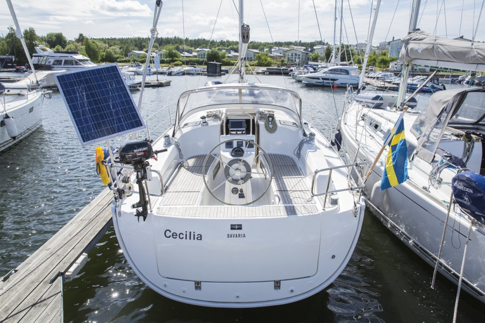 Bavaria Cruiser 36 between personal and professional Sweden