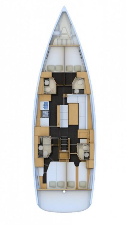 Boat rental Jeanneau Jeanneau 54 in Primošten on Samboat