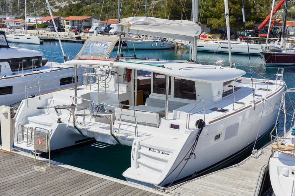 Hire Catamaran with or without skipper Lagoon Primošten