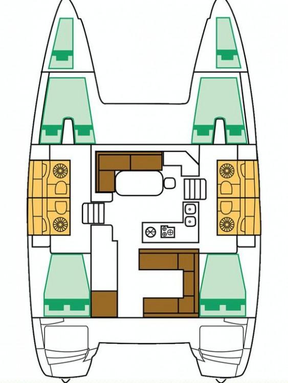 Boat rental Primošten cheap Lagoon 400 S2 - 4 + 2 cab.