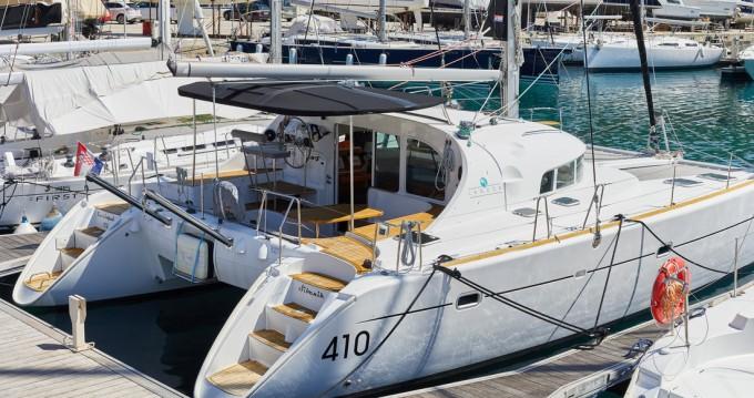 Boat rental Primošten cheap Lagoon 410