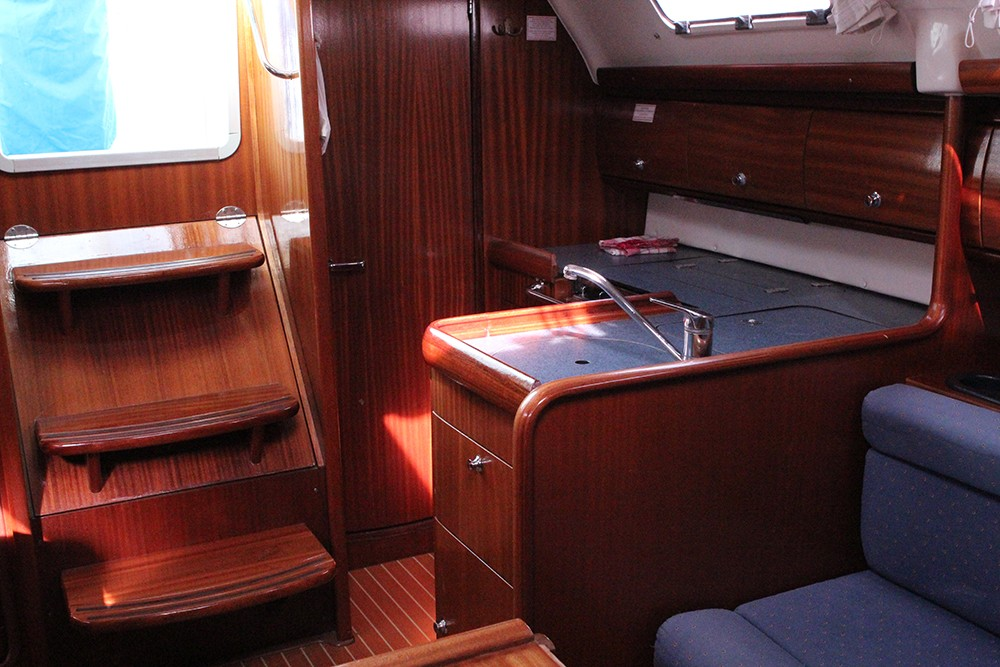 Bavaria Cruiser 30 between personal and professional Vrsar