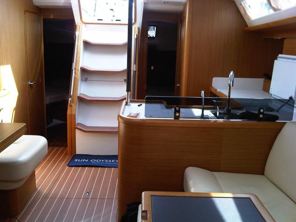 Boat rental Campania cheap Jeanneau 53