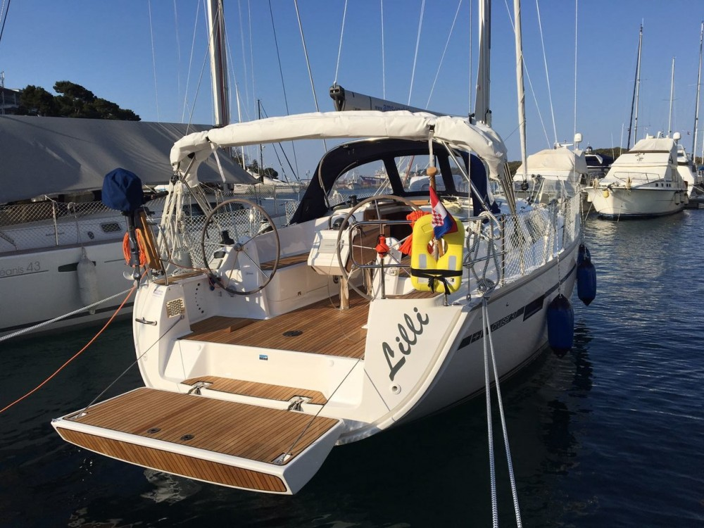 Bavaria Cruiser 37 between personal and professional Vrsar