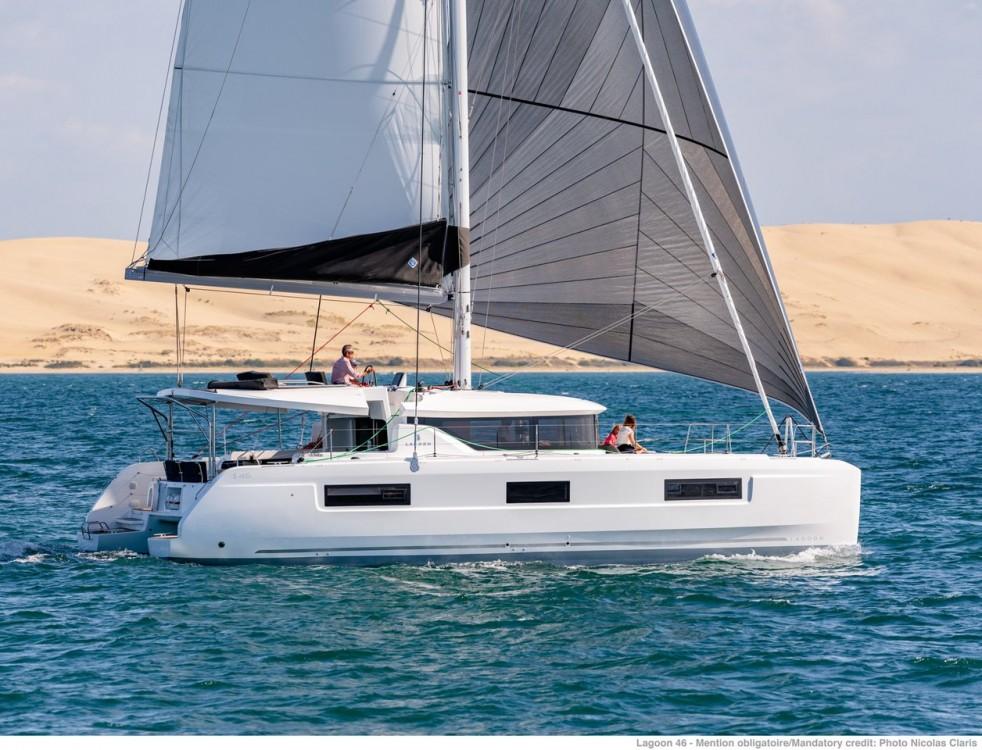Rental yacht Campania - Lagoon Lagoon 46 - 3 + 1 cab. OW on SamBoat