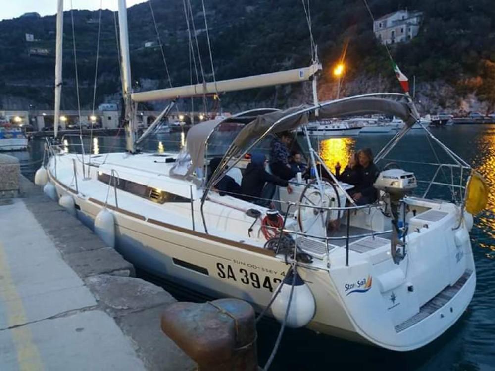Rental yacht Campania - Jeanneau Sun Odyssey 439 on SamBoat