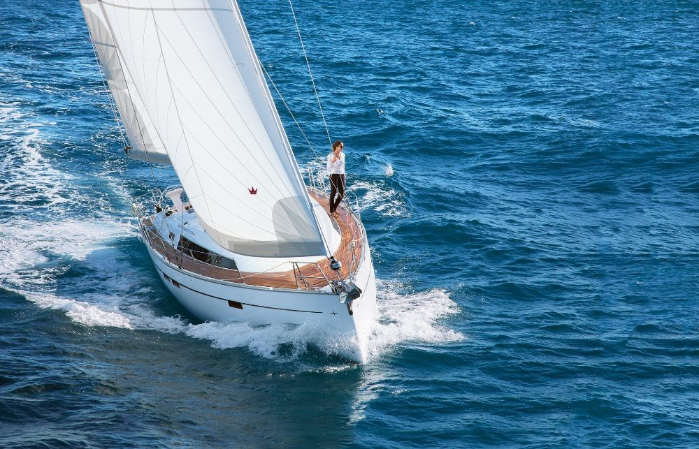 Bavaria Cruiser 46 between personal and professional Follonica
