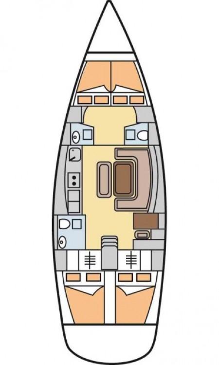 Rental yacht Furnari - Dufour Dufour 455 Grand Large on SamBoat