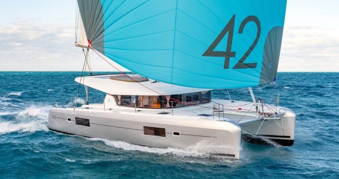 Boat rental Cannigione cheap Lagoon 42