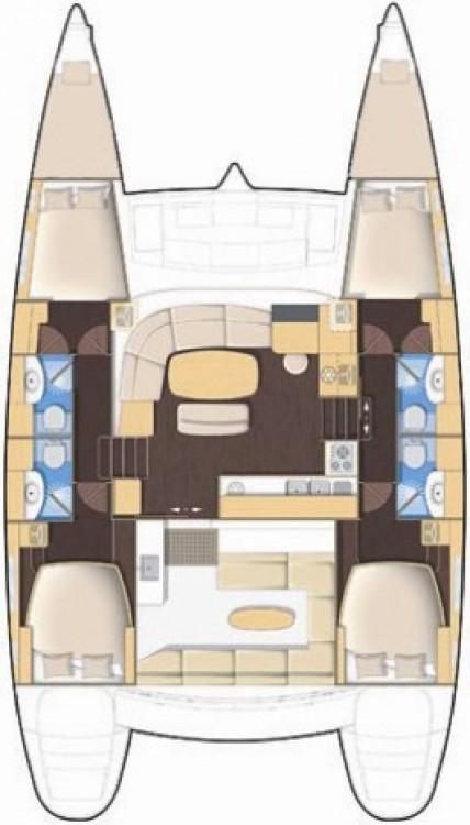 Boat rental Furnari cheap Lagoon 440