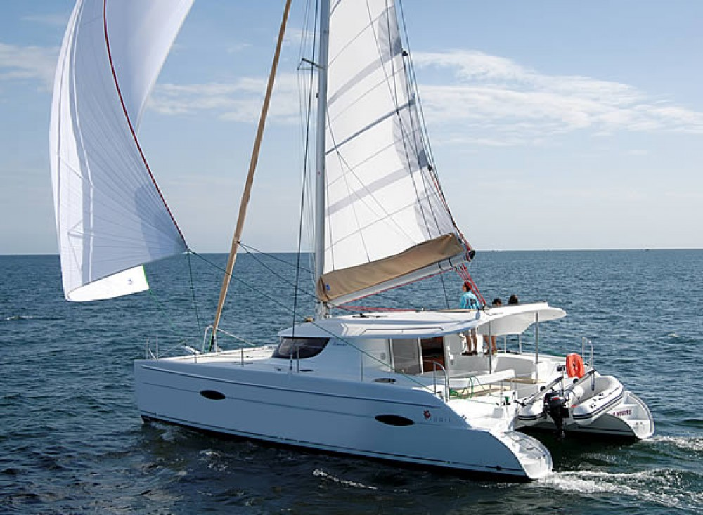 Catamaran for rent Cannigione at the best price