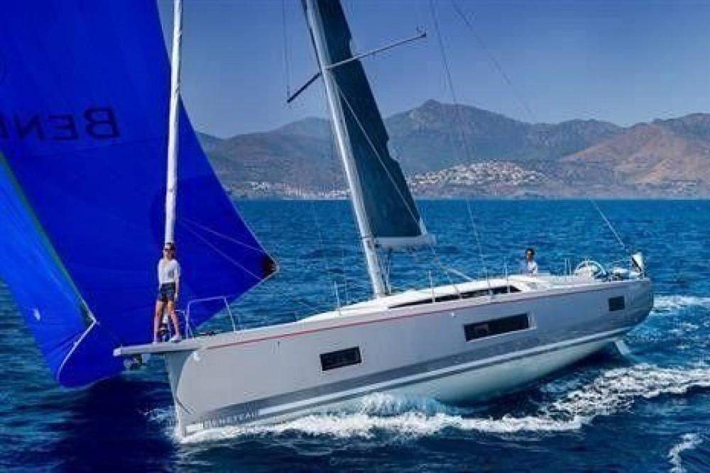 Rental Sailboat in Cannigione - Bénéteau Oceanis 46.1 (4 cab)