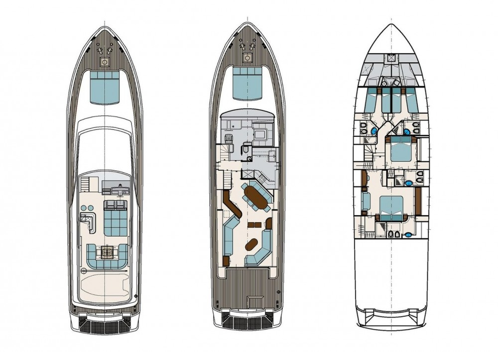 Rental Yacht in Antibes - San Lorenzo San Lorenzo SL82 - semi-custom