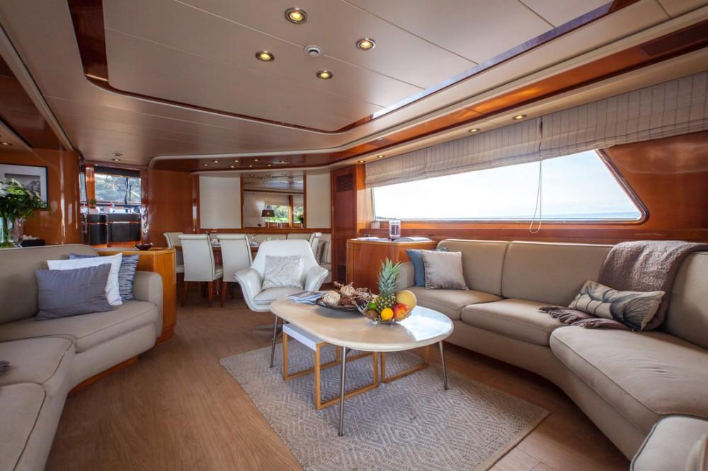 Boat rental Antibes cheap San Lorenzo SL82 - semi-custom
