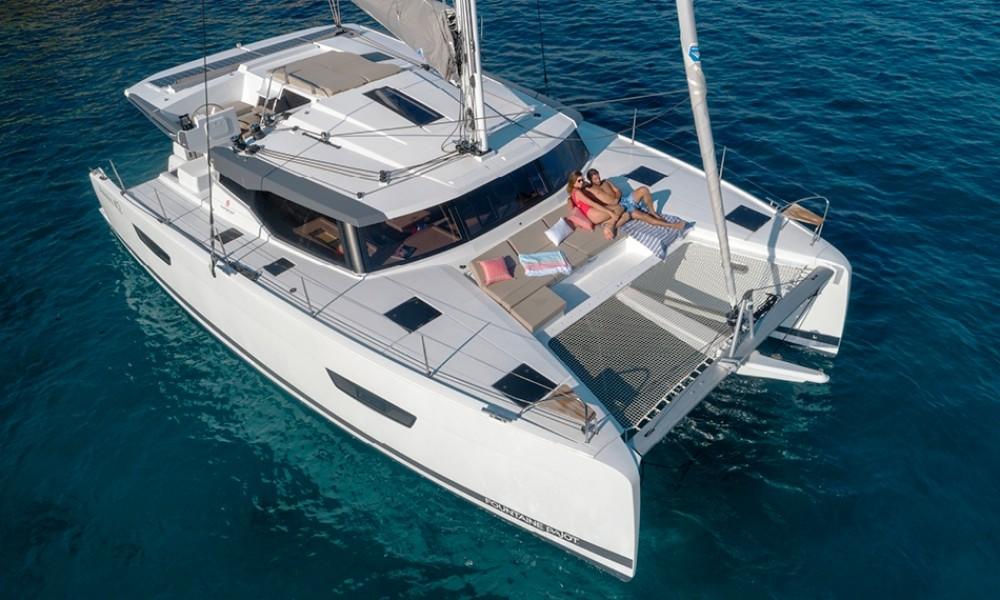 Rent a Fountaine Pajot Fountaine Pajot Astrea 42 - 4 + 1 cab. Marmaris Yacht Marina A.Ş