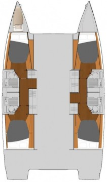 Rental Catamaran in Marmaris - Fountaine Pajot Astrea 42