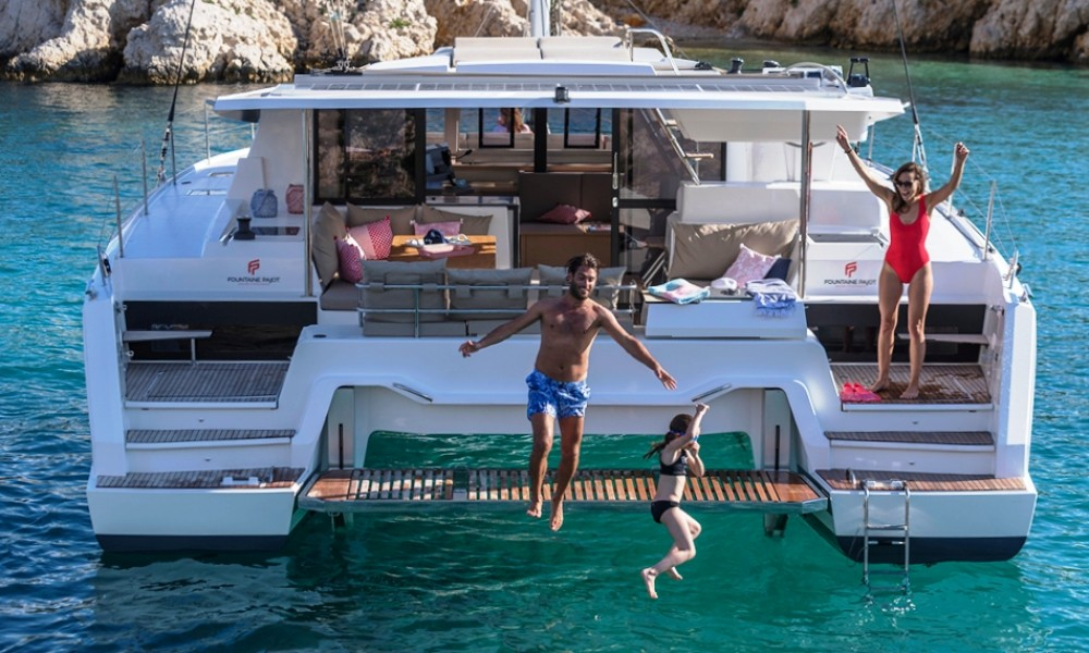 Fountaine Pajot Fountaine Pajot Astrea 42 - 4 + 1 cab. between personal and professional Marmaris Yacht Marina A.Ş
