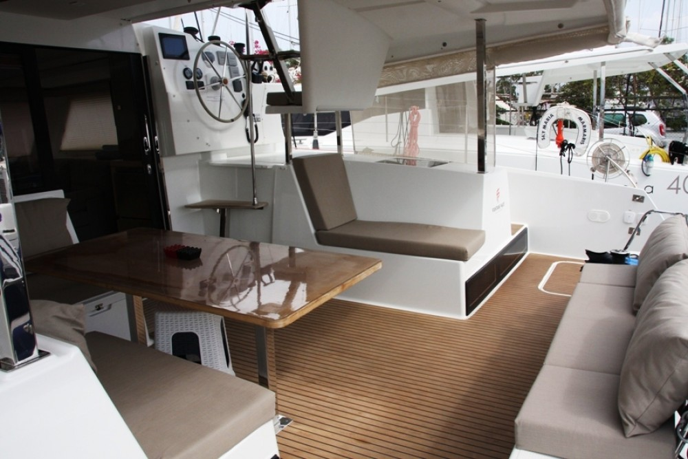 Fountaine Pajot Lucia 40 between personal and professional Marmaris Yacht Marina A.Ş