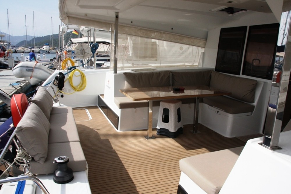 Hire Catamaran with or without skipper Fountaine Pajot Marmaris Yacht Marina A.Ş
