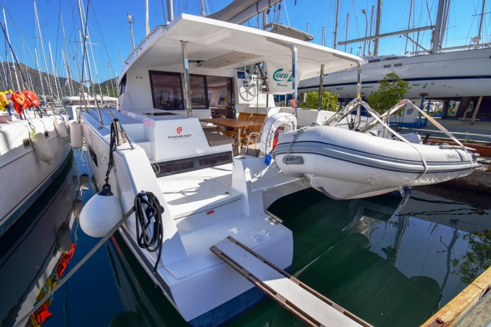 Rental yacht Marmaris - Fountaine Pajot Fountaine Pajot Lucia 40 on SamBoat